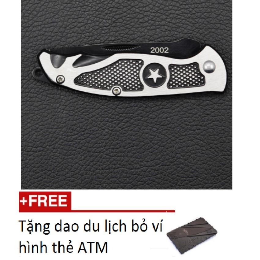 Bộ dụng cụ đa năng, màu đen loại dài(gọt hoa quả , cắt dây rừng..)TL 597 tặng dao gập thẻ ATM M 473
