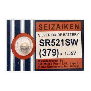 Viên pin Seizaiken SR521SW SR521 521 379 CHÍNH HÃNG vỉ 1 viên