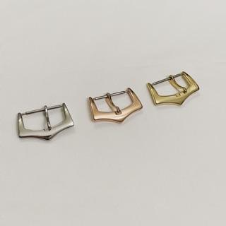 Khóa dây đồng hồ thông dụng được làm bằng chất liệu thép cao cấp không gỉ được mạ lớp pvp giữ màu bền lâu thumbnail