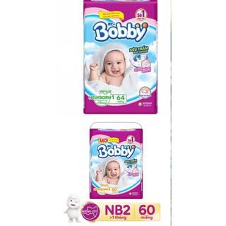 Miếng lót Bobby Newborn 1, Newborn 2 NB1 64/NB2 40/NB2 60