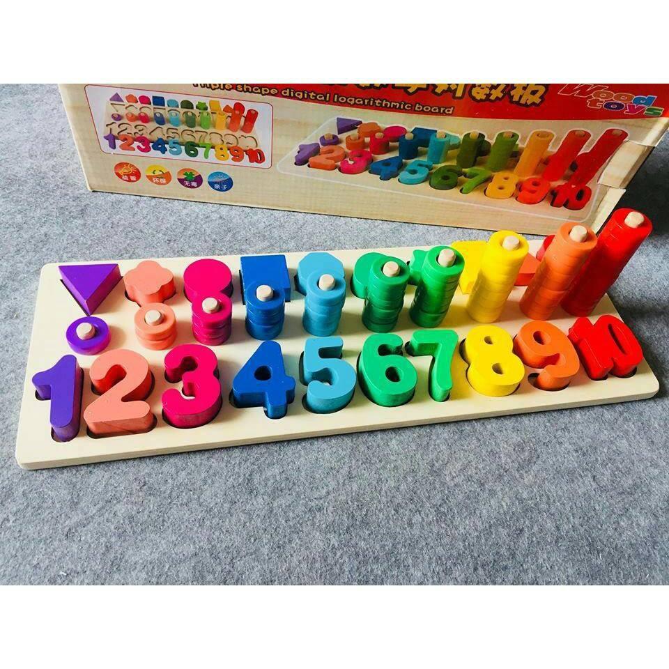 combo đồ chơi thông minh và màu nước