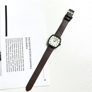Đồng hồ thời trang nữ Viser VS02 mặt oval mẫu mới cực đẹp, dây da mềm êm tay