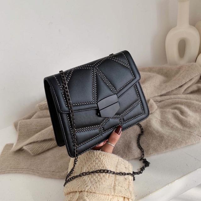 Túi xách đeo chéo đinh ALIT X5