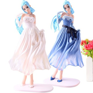 One Piece Nefeltari Vivi Lady Edge Wedding PVC One Piece Vivi Action Figure