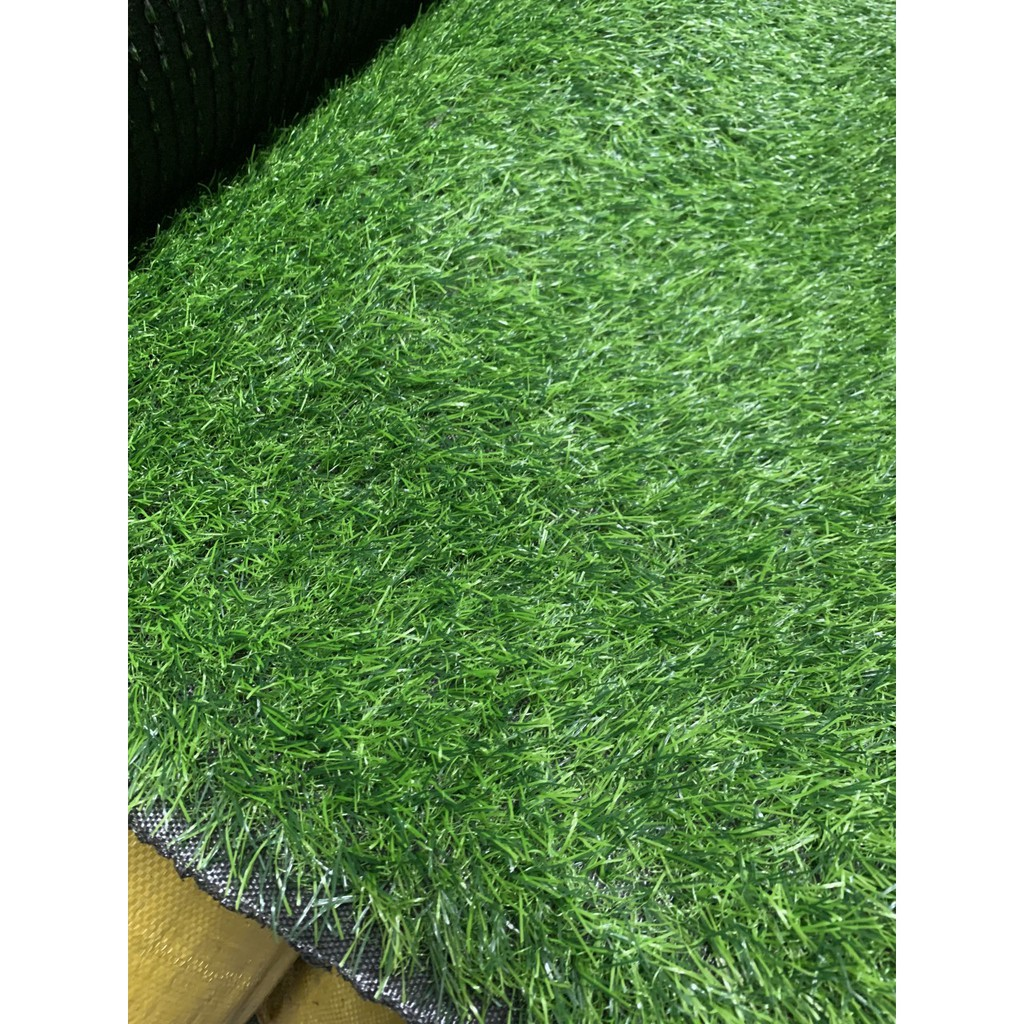 [ 0.5M x 0.5M ] Tấm cỏ nhựa - Thảm cỏ nhân tạo cao cấp đế dày - cỏ cao 2cm
