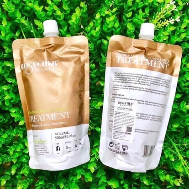 Kem Hấp ủ tóc phục hồi hương nước hoa bosecher 500ml