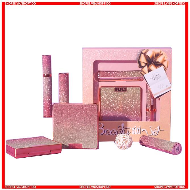 Bộ 3 món trang điểm beauty XiXi cao cấp  chính hãng nội địa Trung Xi Xi D228