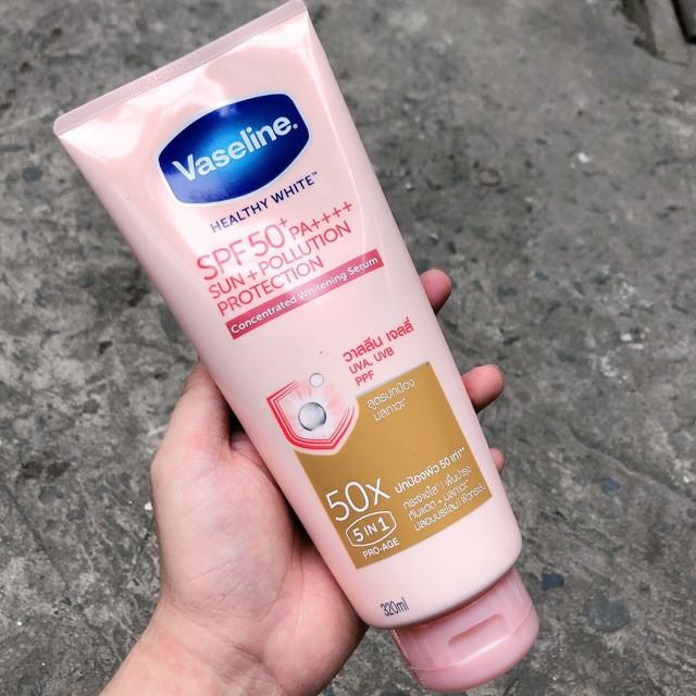[BẢN MỚI] Sữa Dưỡng Thể Vaseline Perfect Serum 50X Tuýp 320ml
