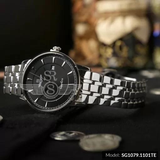 Đồng hồ đôi SRWATCH SG1079.1101TE - SL1079.1101TE mặt kính Sapphire chống nước thời
