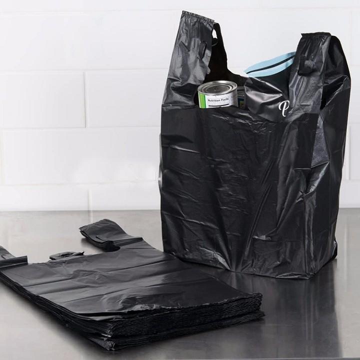 1 kg túi nilon gói hàng, túi bóng đen đựng rác