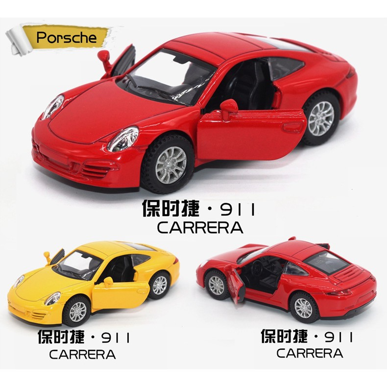1:34 911 sports car simulation alloy car model car model toy new alloy car retai