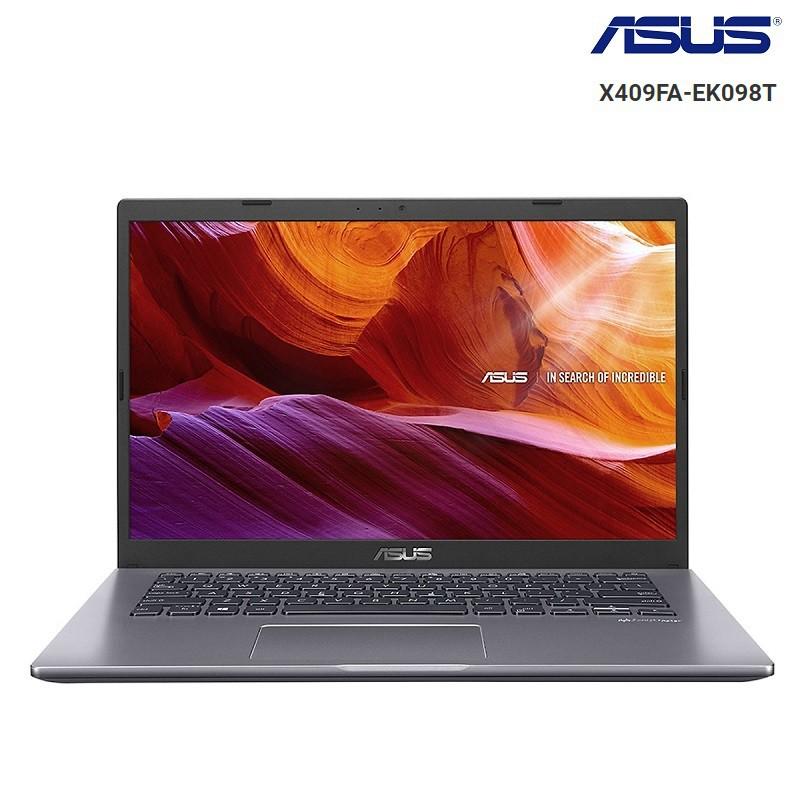 [Mã ELLAPDESK giảm 5% đơn 3TR] Laptop Asus Vivobook X409FA-EK098T i3-8145U,4GB,1TB, Win10,14 FHD