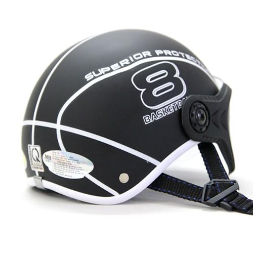 THANH LÝ Mũ bảo hiểm Sport Superior có kính màu đen
