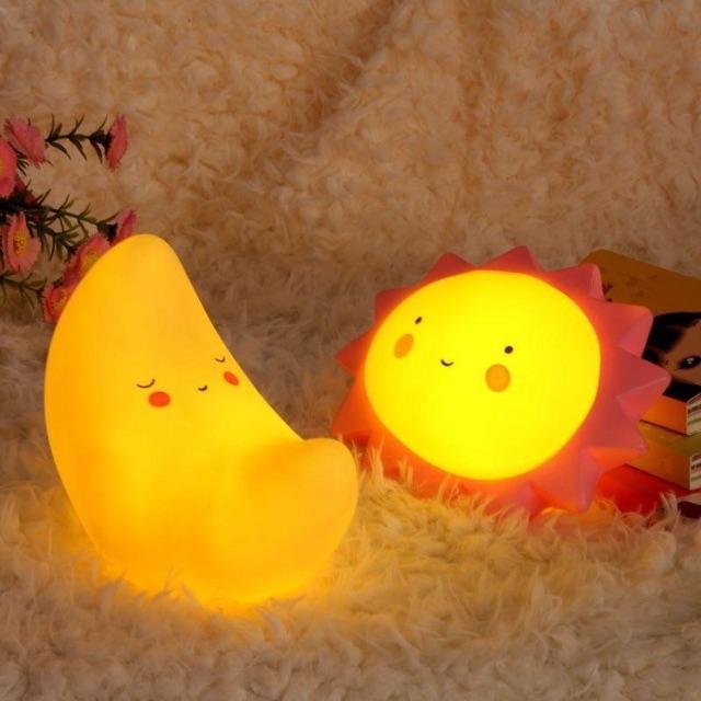Đèn Ngủ Trẻ Em FREESHIP Đèn LED Ngủ Để Bàn Hình Dạng Sáng Tạo Đáng Yêu Cho Trẻ Em