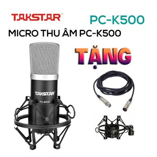 【Chính hãng】Mic thu âm chuyên nghiệp cao cấp Takstar PC-K500 hát karaoke, livestream, bán hàng