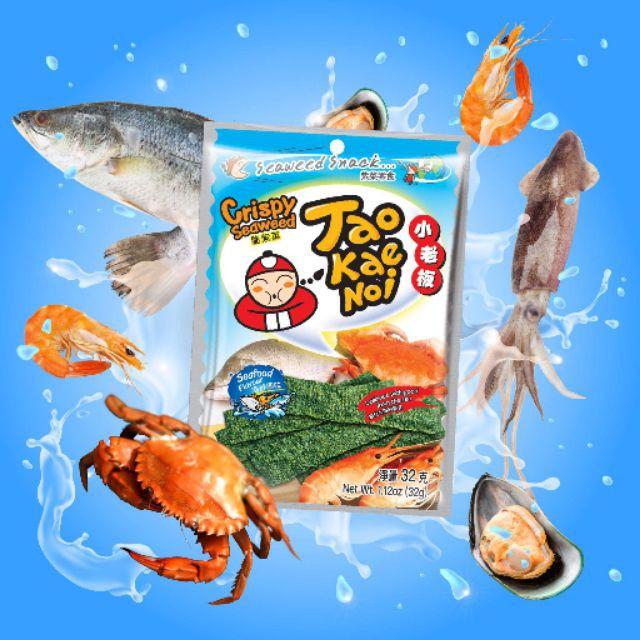 Tao Kae Noi Snack Rong Biển Vị Hải Sản