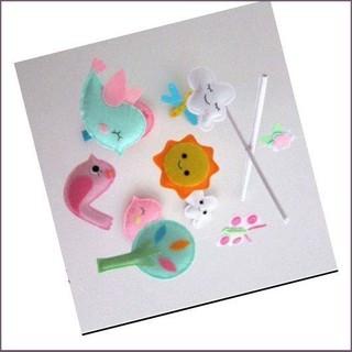[Giá Khuyến Mãi]Đồ chơi handmade dc0010 dùng treo nôi cũi tiện lợi bé