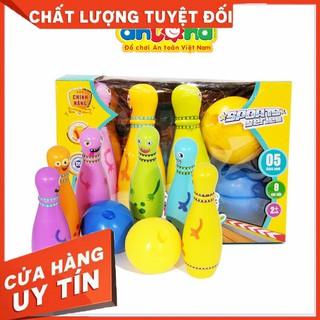 [Mẹ Và Bé] Đồ chơi Bowling vui nhộn cho bé- Hàng Việt Nam an toàn cho bé