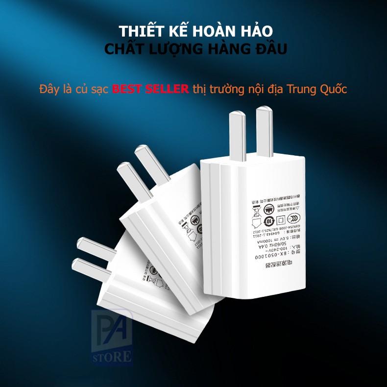 Củ Sạc Tiêu Chuẩn 5V/1A - Hàng Best Seller Nội Địa Trung