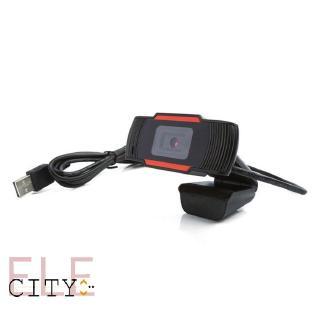 Webcam Xoay 30 Độ 2.0 Hd 720p Có Micro Cho Máy Tính thumbnail