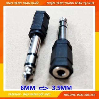 Jack 6mm ra bông sen HOẶC Jack 6mm ra 3,5mm (6 ly ra 3 ly) - 1 cái thumbnail