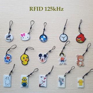 [Loại copy được] Thẻ cảm ứng từ thang máy, khóa cửa thông minh, chìa khóa xe máy hình cute – RFID 125khz