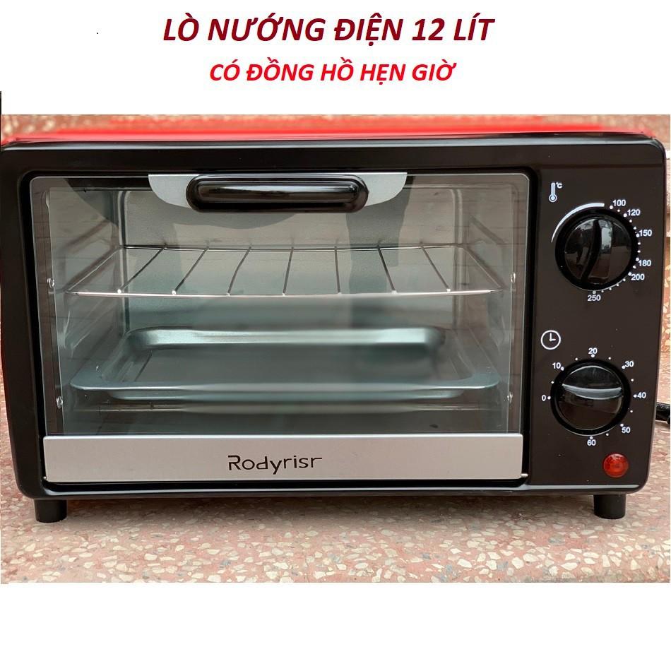 Lò nướng điện RODYRISR cao cấp 12 lít