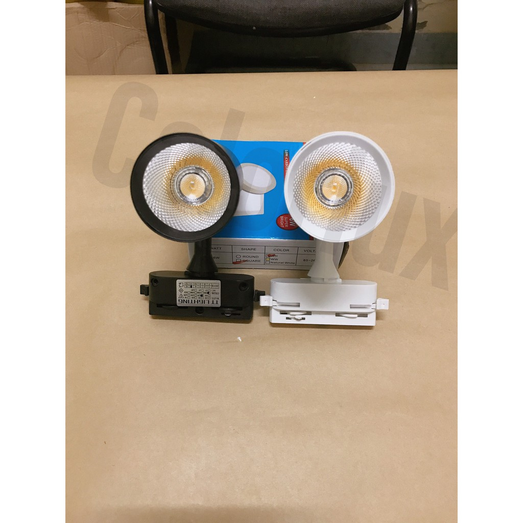 Đèn rọi ray COB 7W, 12w, 20w, 30w giá tốt nhất tại xưởng, bảo hành lên đến 12 tháng