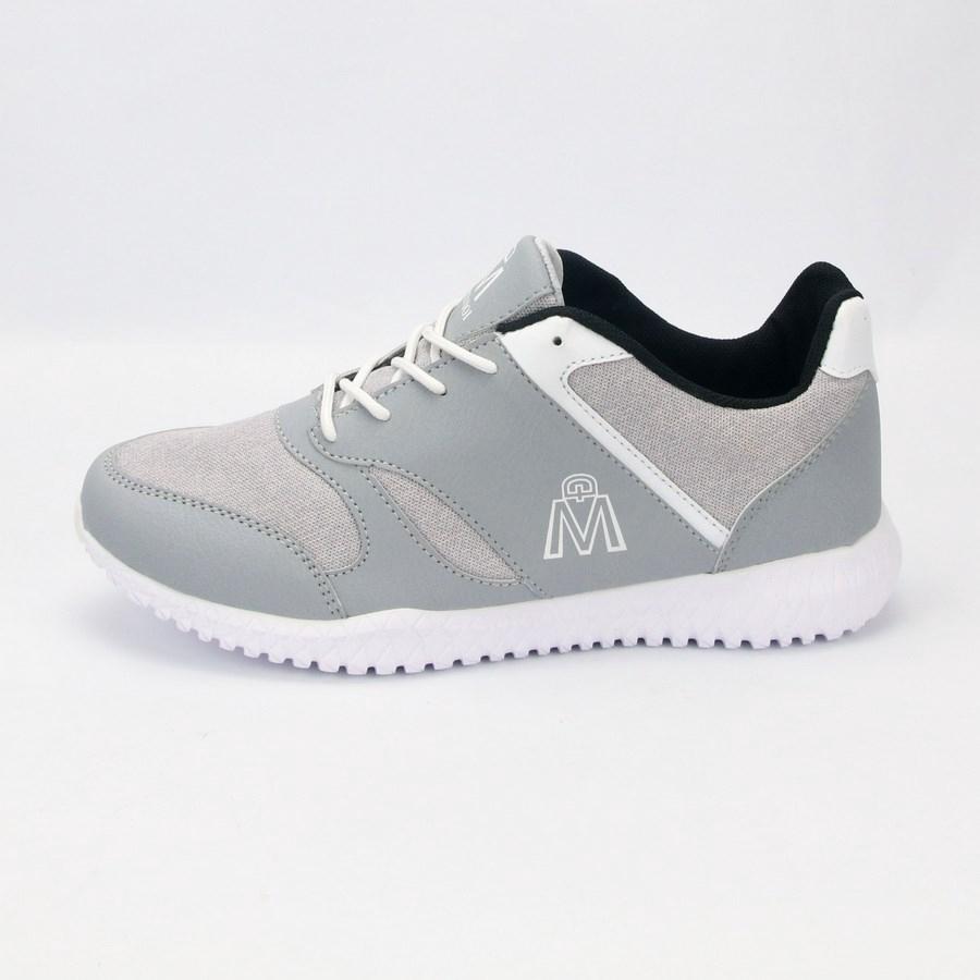Giày thể thao nam xám nhạt MĐ G410 giày sneaker nam
