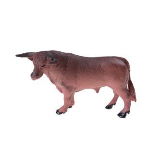 ★gentle Pig Dog Cow Sheep Horse Donkey Kids Toy 6Pcs Farm Animal Model Set