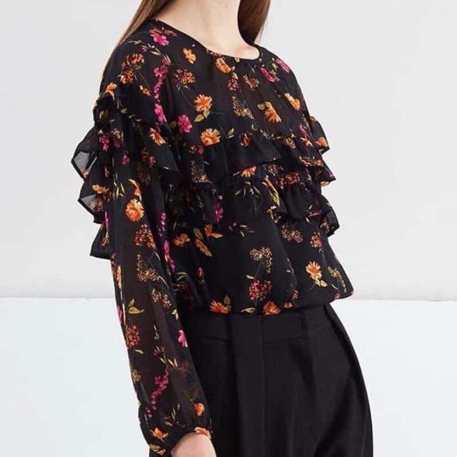 Áo hoa nhí xuất khẩu newtag