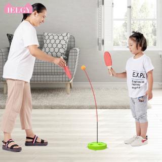 IELGY table tennis trainer elastic soft shaft children indoor parent-child interactive toys