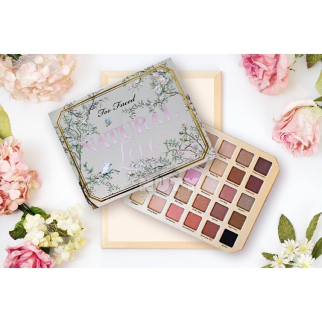 Bảng Phấn Mắt Too Faced Natural Love Eyeshadow Palette