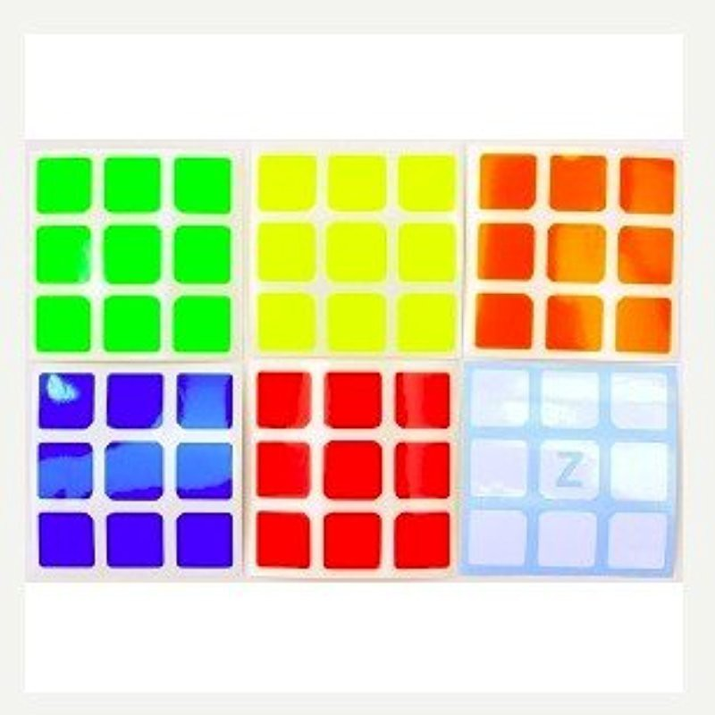 5.7cm 3x3x3 Speed Cubes A Set of High Quality Stickers