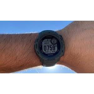 Đồng hồ thông minh Garmin Instinct Solar, Tactical Edition, GPS Watch, Moss, SEA 010-02293-49