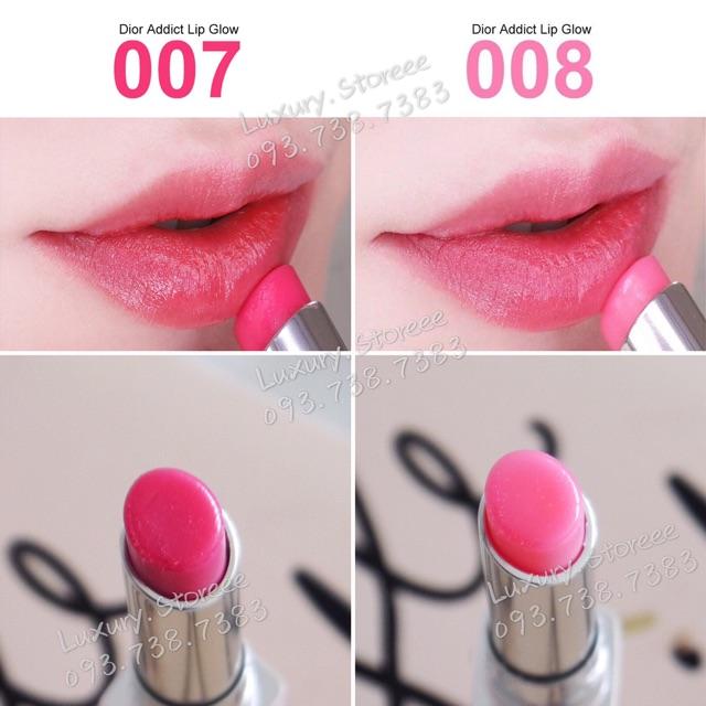[Mã COSHOT18 hoàn 8% xu đơn 250K] Son dưỡng Dior Lip Glow / Maximizer fullsize các màu
