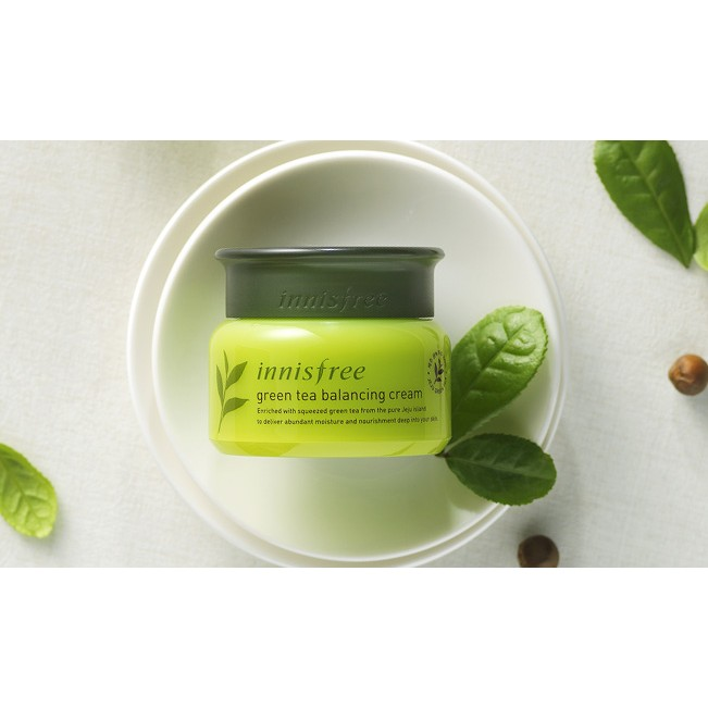 Kem dưỡng da Green Tea Balacing Cream
