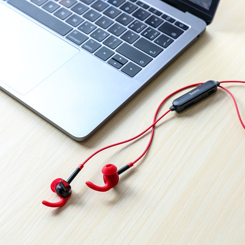 Tai nghe bluetooth nhét tai Hoco ES30 V4.2 Nghe gọi 4H, Hỗ trợ khe gắn thẻ nhớ - Hãng phân phối chính thức