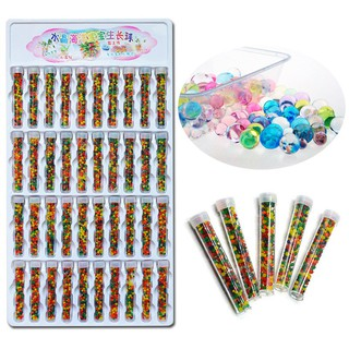 40 Bottle Absorbent Beads Crystal Mud SpongeBob Kids Toys JP0600