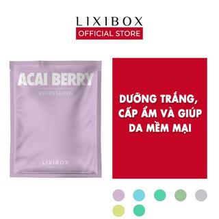 Mặt nạ giấy Lixibox, 23 gr- Acai Berry