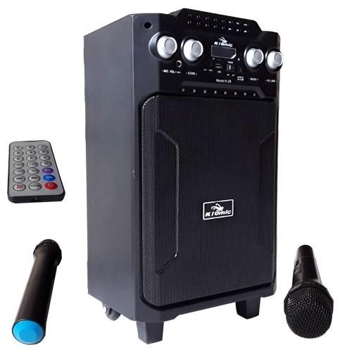 Loa di động Kiomic K29 (Tặng kèm 2 mic không dây) - 10085091 , 1332367837 , 322_1332367837 , 1899000 , Loa-di-dong-Kiomic-K29-Tang-kem-2-mic-khong-day-322_1332367837 , shopee.vn , Loa di động Kiomic K29 (Tặng kèm 2 mic không dây)