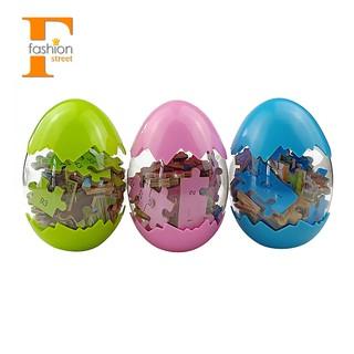 👑Wooden Puzzle Animal Dinosaur Eggs Jigsaw Educational Toys