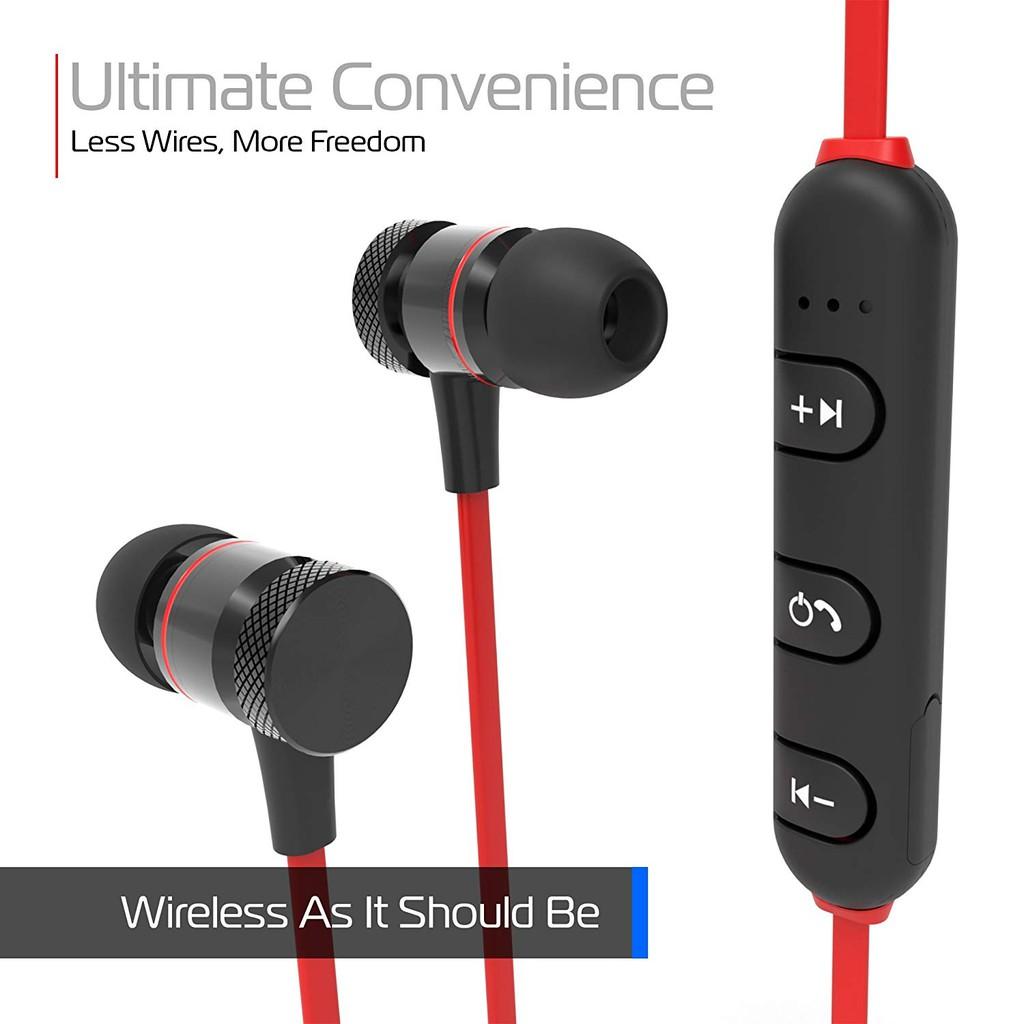 Tai nghe không dây bluetooth thể thao hai đầu nam châm có đàm thoại M5 âm thanh