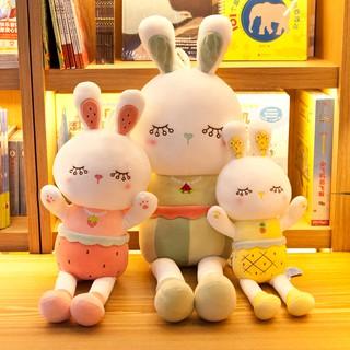 Plush toy little white rabbit doll doll doll cute sleeping pillow girl children's day birthday gift male
