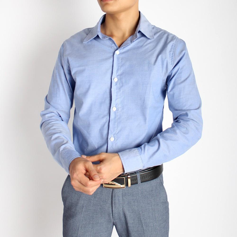 Áo Sơ Mi Nam Dài Tay Vải Sơ Mi Cotton Chando SMCD01