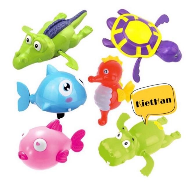 Sinh vật biển bơi LOẠI TO ( đồ chơi nhà tắm)