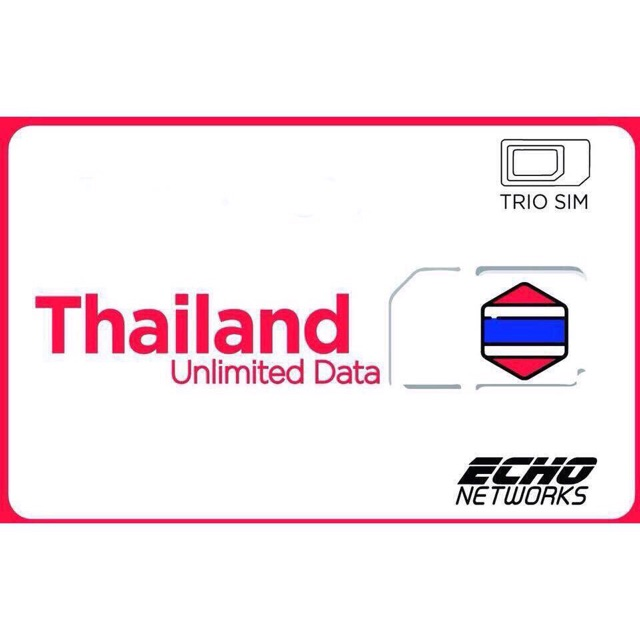 SIM ĐI THÁI LAN 8 ngày- Sim 4G du lịch giá rẻ