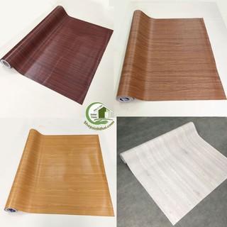 Yêu ThíchGiấy dán tường vân gỗ, [ 50cm x khổ 1,2m ] có sẵn keo