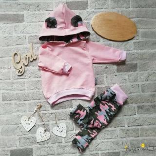 ♛loveyourself1♛-Newborn Toddler Baby Girl Hooded Sweatshirt Top Pants Trousers Autumn Winter Outfit Clothes 2PCS Sets