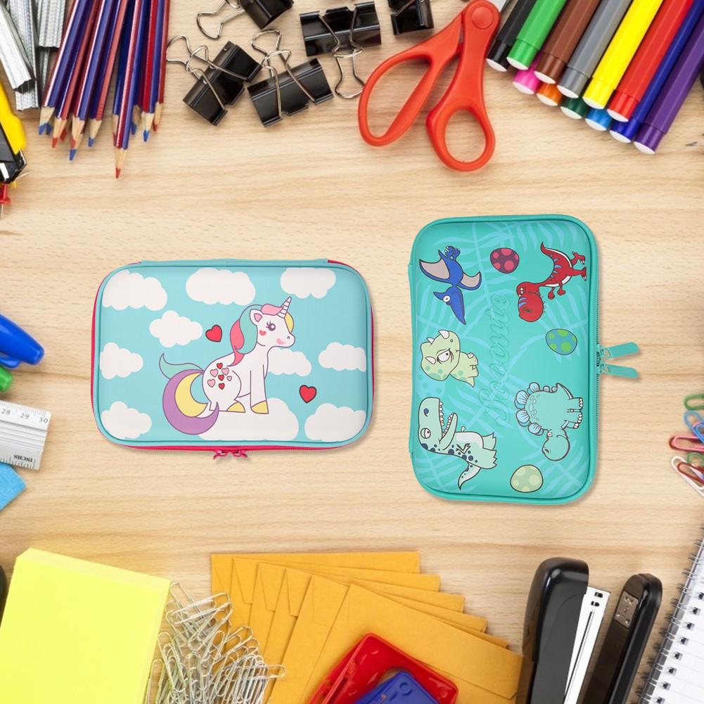 Pencil Case Cartoon Animals EVA Pencil Box JK Home&Living Large Capacity Pencil Bags Stationery